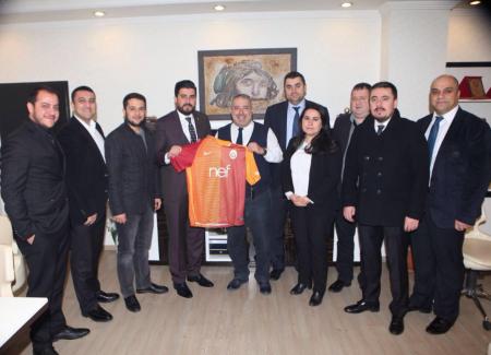 Gaziantep Gazeteciler Cemiyeti Başkanı'nı Ziyaret